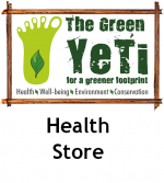 The Green Yeti is our health store brand with a difference
